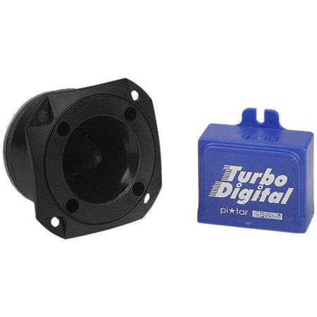 Buzina Eletrônica para Carro - Turbo Digital