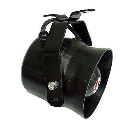 Buzina Sirene Profissional Policia, Bombeiro Para Moto 5 Sons