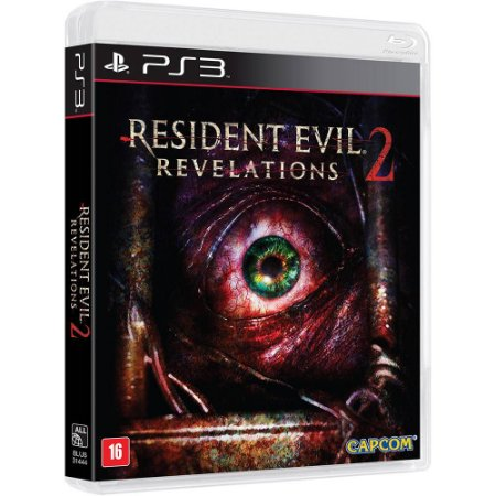 JOGO PS3 - RESIDENT EVIL 2 REVELATIONS
