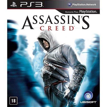 JOGO PS3 - ASSASSIN'S CREED (USADO)
