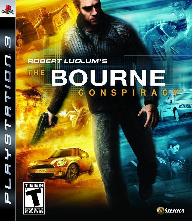 JOGO PS3 - ROBERT LUDLUM'S THE BOURNE CONSPIRACY  (USADO)
