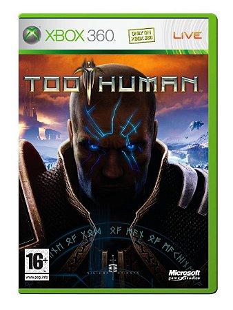 JOGO XBOX 360 - TOO HUMAN (USADO)