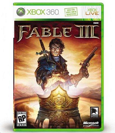 JOGO XBOX 360 - FABLE III (USADO)