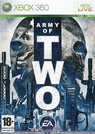 JOGO XBOX 360 - ARMY OF TWO (USADO)