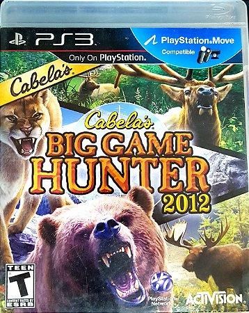 JOGO PS3 - CABELA'S BIG GAME HUNTER 2012