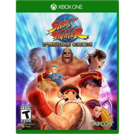 JOGO XBOX ONE - STREET FIGHTER 30th ANNIVERSARY COLLECTION