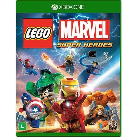 JOGO XBOX ONE - LEGO MARVEL SUPER HEROES