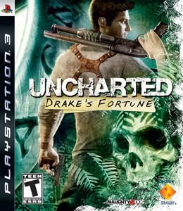 Jogo Ps3 - Uncharted Drake's Fortune (Usado)