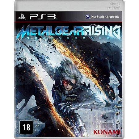 Jogo Ps3 - Metal Gear Rising Revengeance (Usado)