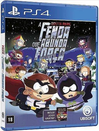 Jogo Ps4 - South Park: A Fenda Que Abunda A Força