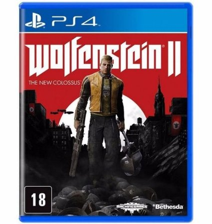 Jogo Ps4 - Wolfenstein II - The New Colossus