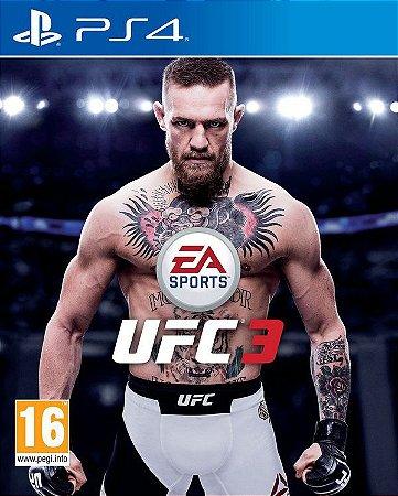 Jogo Ps4 - UFC 3