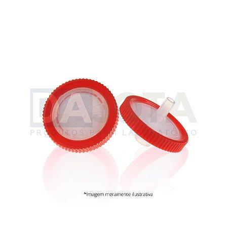 Filtro para Seringa com Membrana PTFE HIDROFILICO 25mm X 0,45 µm Pct C/100 Dajota