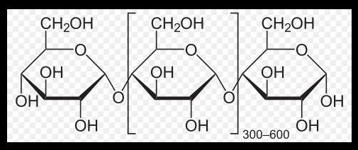 amylose from potato - Amilose de batata  frs de 5 grama marca chem gold CAS 9005-82-7