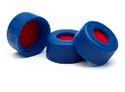 Cap, screw, blue, certified, PTFE/silicone/PTFE septa, 500/pk. Cap size: 12 mm agilent 5182-5862