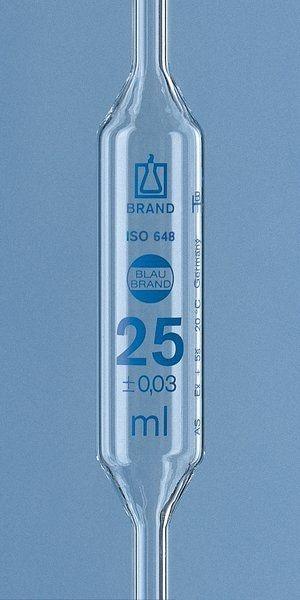 Pipeta Volumétrica Brand De 2,5 Ml Ref. 29704 Cx. 5 Un.