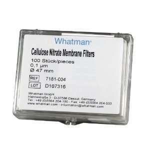 MEMBRANA NITRATO DE CELULOSE 47 X 1 - WHATMAN ref. 7181-004 - Cellulose Nitrate MEMBRANE CX 100UN.