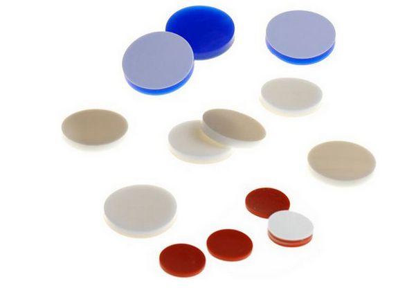 Septo de silicone 17,5 X 1,6mm (pacote c/100 unid.)