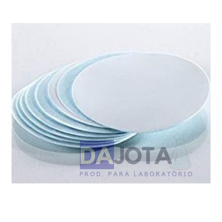 Micro filtro Fibra de Vidro Diam  90mm Tipo GF3 Cx Com 50 Unidades