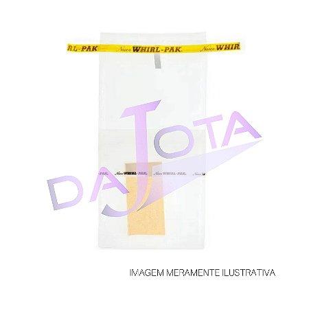 Saco Estéril Com Tarja Identificação Com Esponja 532 Ml Pacote Com 100 Unidades