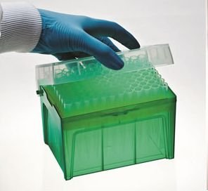 Ponteira Para Micropipeta De 10 A 100 Microlitros Com Filtro, Nao Esteril Rack 96