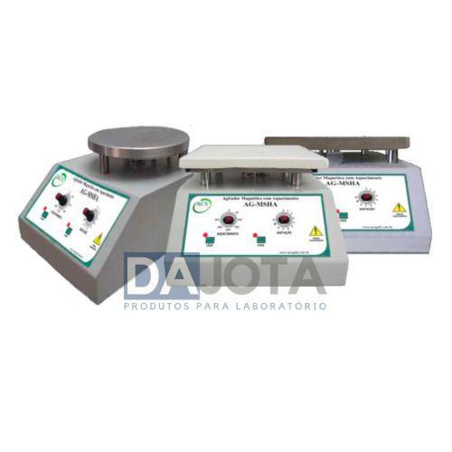 Agitadores Magnéticos Analógicos com Aquecimento AG-MSH