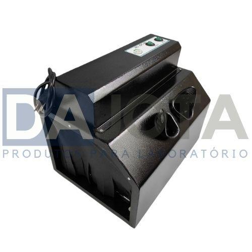 Câmara Escura Uv Ag-Dc2 Bivolt - Acompanha As Lâmpadas