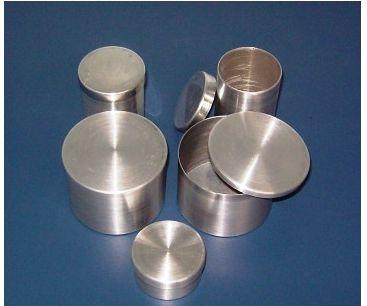 Capsula De Alumínio Com Tampa  Cilíndrico (Favor Especificar Tamanho)