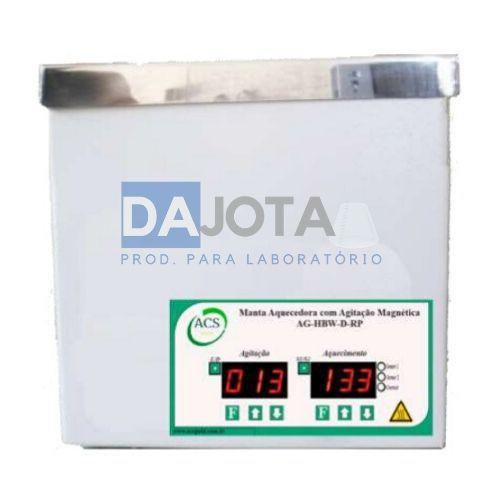 Manta Aquecedora com Agitação Magnética Digital AG - HBWD Para Balao de 1 lt