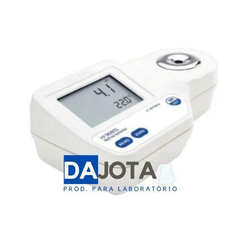 Refratômetro Digital Portátil para Medição de Açúcar 0-85% (Brix)