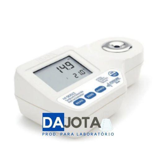 Refratômetro Digital Portátil para Medição de Cloreto de Sódio.
