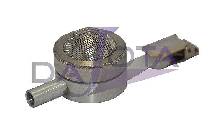 Button Amostrador  Skc, 25mm, Em Alumínio, Com Garra De Fixação