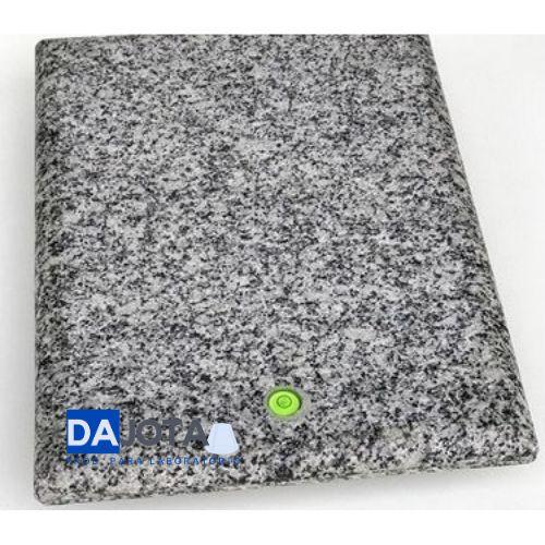 Mesa para Balanca com nucleo antivibratorio com pes e nivelador,canto arredondado 350x400 mm em granito natural polido