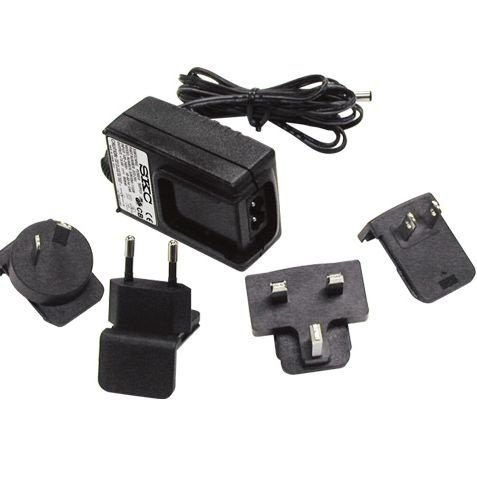 Single Charger/Power Supply Single Wall Cube/Power Supply, 100-240 V, with multiple plugs; use alone with QuickTake 15 and QuickTake 30 Li-Ion pumps SKC 223-245