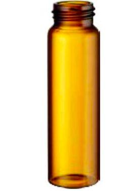 Vial Ambar 32 X 12mm  - 2 Ml , Screw-Cap, Marca National Scientific Cx Com 100 Unid Sem Tarja, Com Tampa