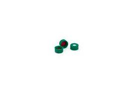 Tampa para Vial de 2 ml, verde,com septo marca Agilent pk 100