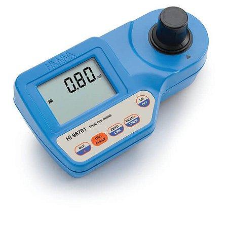 Fotômetro com Cal Check para Cloro Livre e Total – Faixa Ultra Alta
