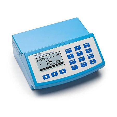 Fotômetro Multiparâmetro com 37 Parâmetros