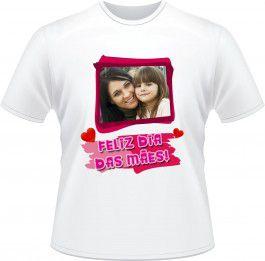 Camiseta Personalizada Dias das Mães