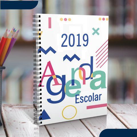 Agenda Escolar Personalizada 2019 com Fotos e Temas e profissões
