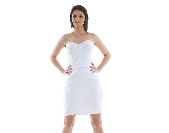18. Vestido Branco Tomara que Caia