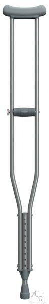 Muleta Axilar de Alumínio Mercur