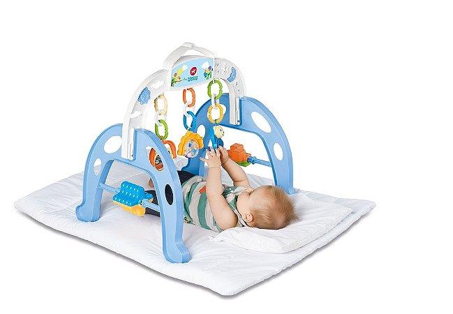 Centro de Atividades Brinquedo Educativo Infantil Mobile Baby Gym - Calesita Braço Azul