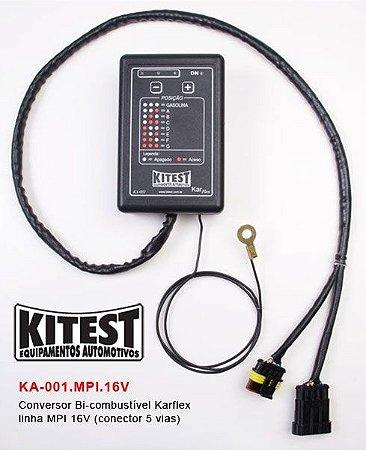 Conversor Bi-Combustível Karflex Linha Fiat MPI 16V KA-001.MPI.16V