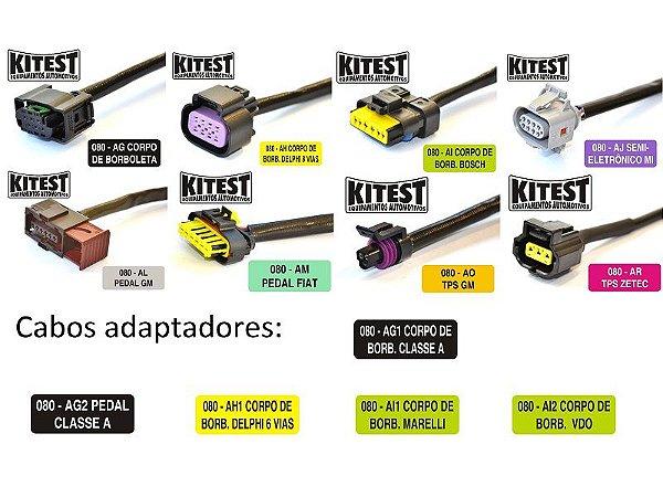 Kit Cabos Adaptador De KA-080 Para Cabos KA-070 CJ-CAB.OPC.080