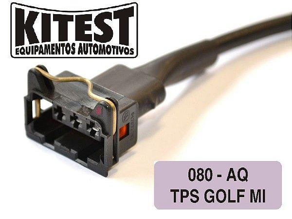 Cabo Utilizado Testar TPS Tipo/Ibiza/Golf Conector 5 vias CAB-080.AP