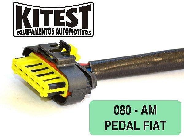 Cabo Utilizado Testar Pedal Eletrônico FIAT CAB-080.AM