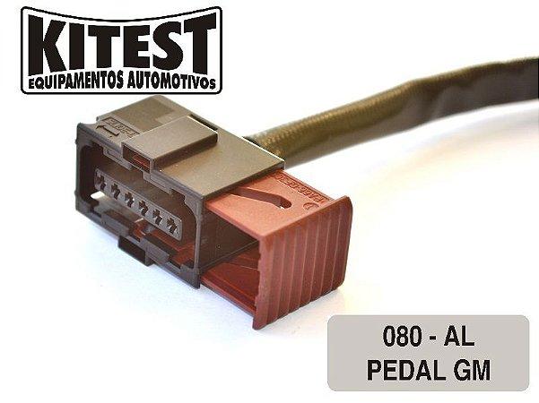 Cabo Utilizado Testar Pedal Eletrônico GM Fiat CAB-080.AL