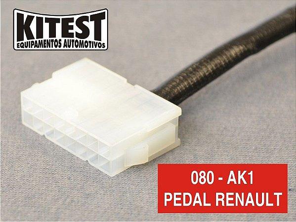 Cabo Testar Pedal Acelerador Renault CAB-080.AK1