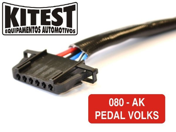 Cabo Utilizado Testar Pedal Acelerador Eletrônico Volkswagem CAB-080.AK